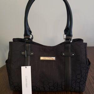 Calvin klein black hand bag